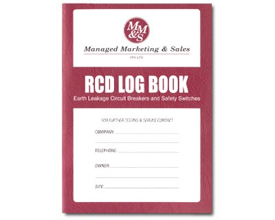 Log Book - RCD Testing