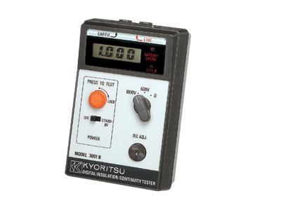Kyoritsu 3001B Digital Insulation and continuity tester