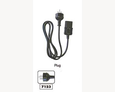 Kyoritsu 7123 - Replacement Power Lead for 6201A