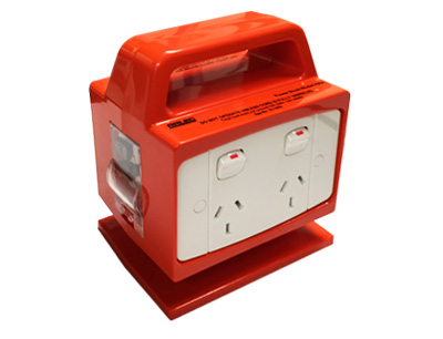 Arlec Portable Power RCD Safety Switch 4 Outlet
