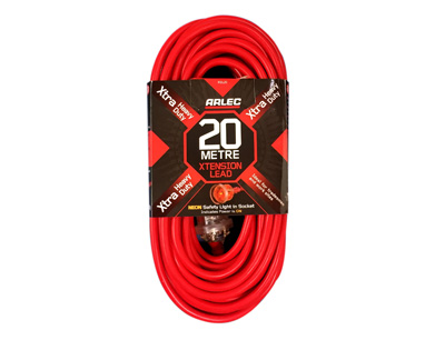 Arlec Extra H/Duty Extension Lead - 20 Metres