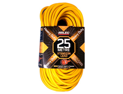Arlec Heavy Duty Extension Lead - 25 Metres