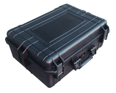 Large Military Style Equipment Case with Pluck and Pick Foam