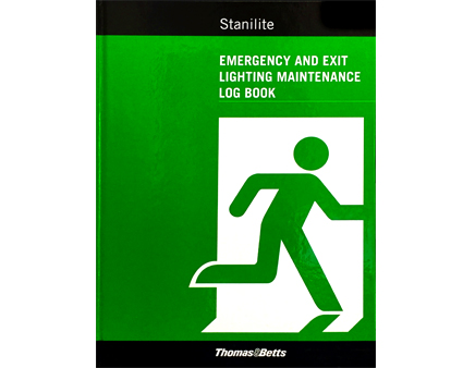 Log Book - Emergency and Exit Lighting Maintenance