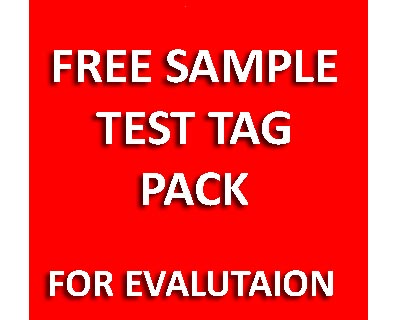 Free test tags sample pack - for evaluation