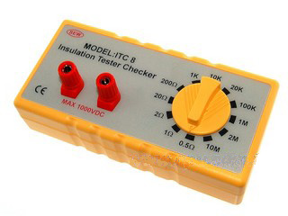 ITC8 (Insulation Tester Checker) - Click Image to Close