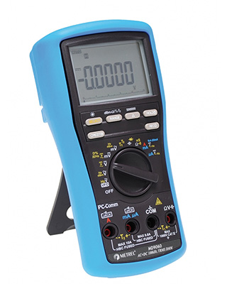 Metrel 9060 Professional High Resolution Multimeter with VFD