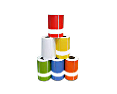 Optima (Compatible) test tags 250 per roll - Box of 10 rolls