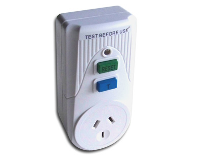 Power Tech Plus Portable RCD - Plug connector type