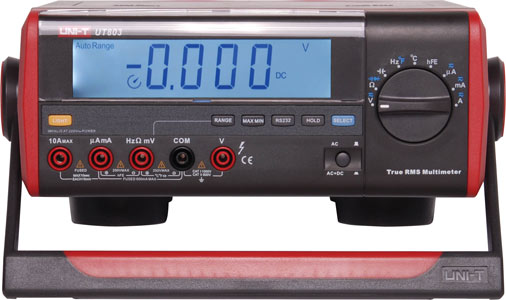 UNI-T UT803 Auto Ranging True RMS Benchtop Multimeter