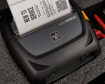 Metrel Zebra ZQ520 Label Printer